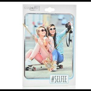 #Selfie Camera Charm Necklace Capelli New York